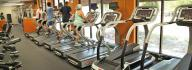 James L. Camp, Jr. Family YMCA treadmills