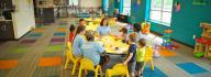 Kids having fun in Stay & Play drop-in child care at the Princess Anne Family YMCA