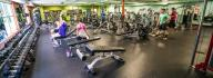 Great Bridge/ Hickory Family YMCA indoor gym