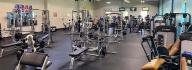 Fitness center in the YMCA of South Boston/Halifax County