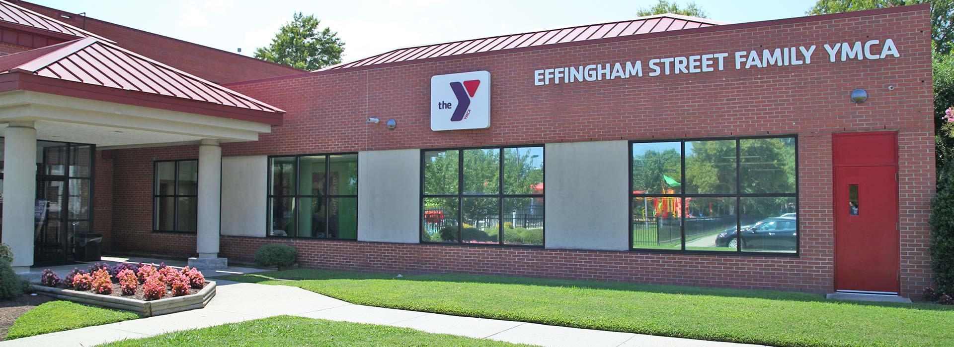 Exterior view of the Effingham Street Family YMCA