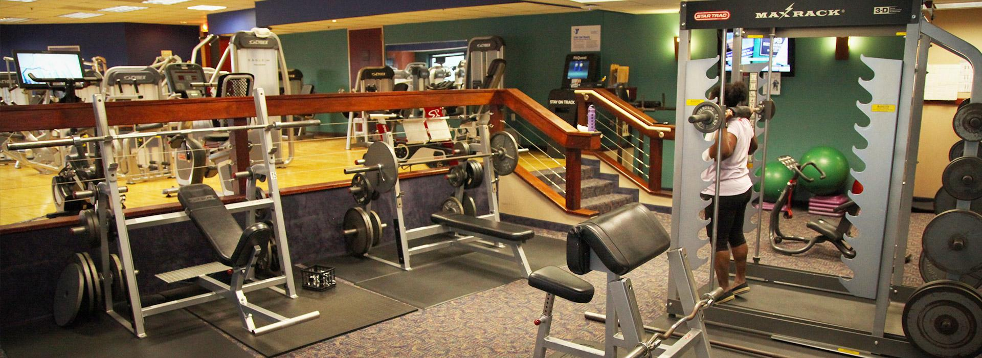 Dominion Tower fitness room