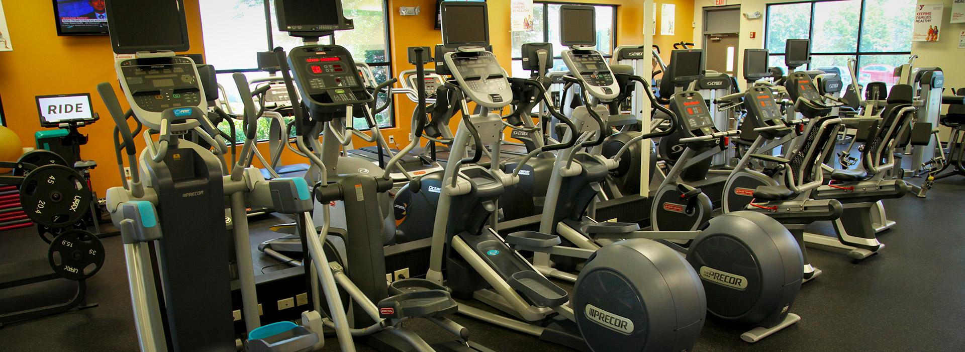 Effingham Street Family YMCA elliptical