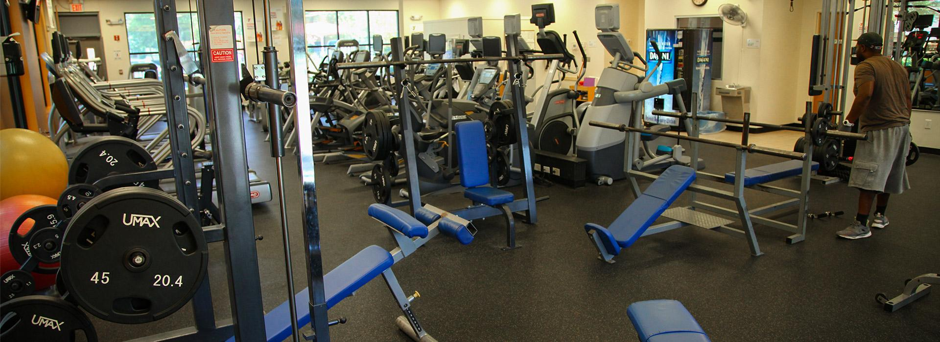 Effingham Street Family YMCA weight room