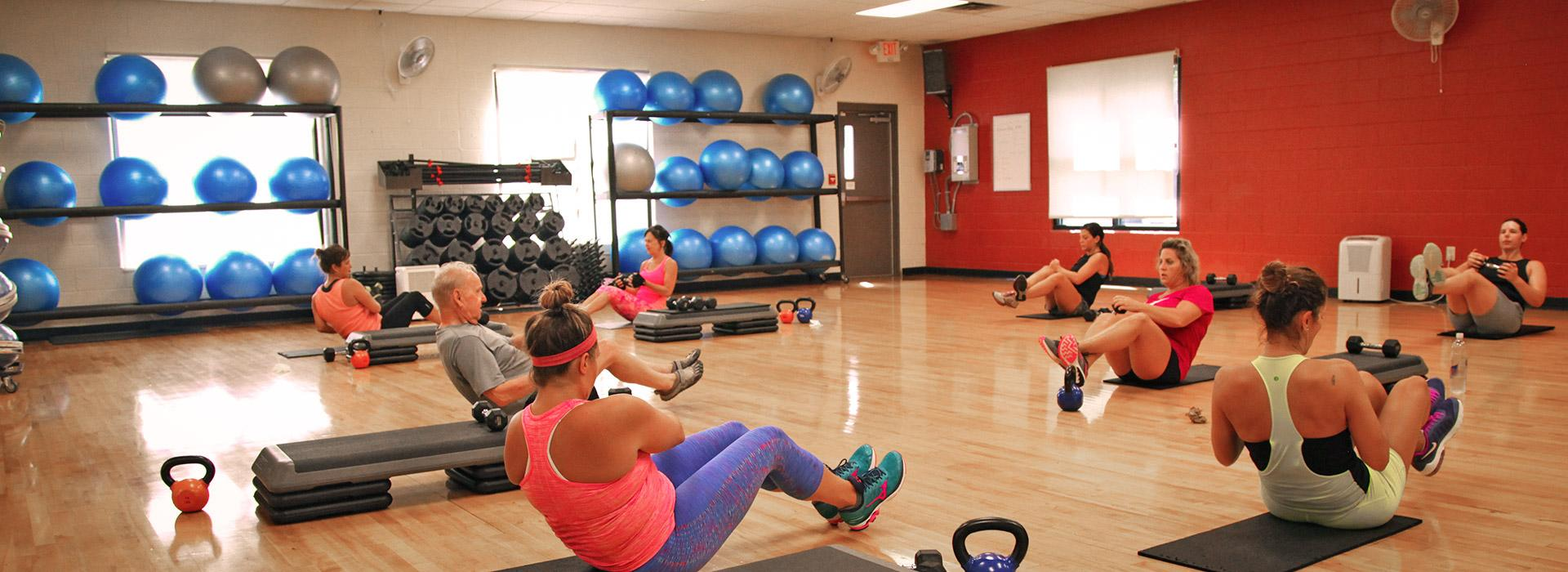 Greenbrier Family YMCA group exercise class