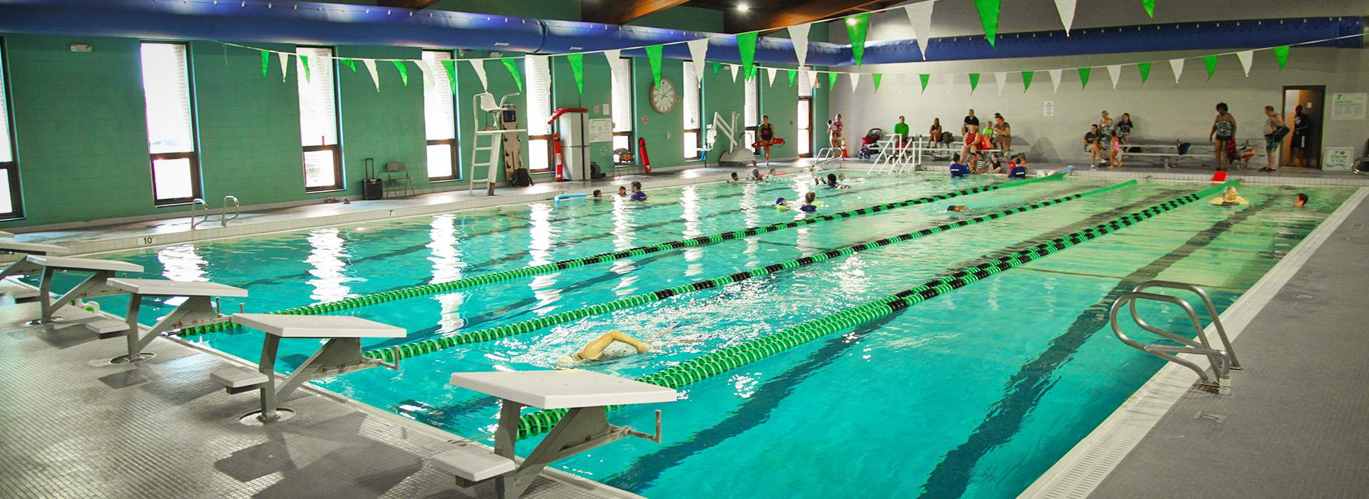 Greenbrier Family YMCA indoor pool