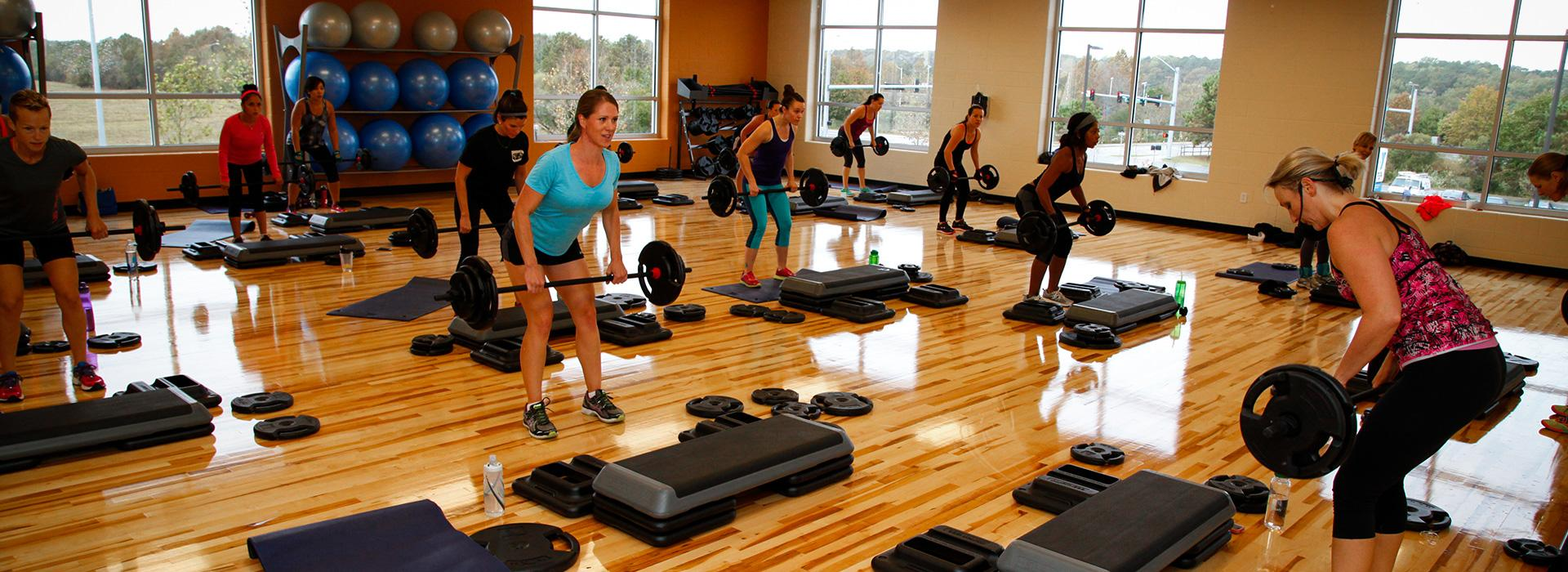 Princess Anne Family YMCA group exercise class