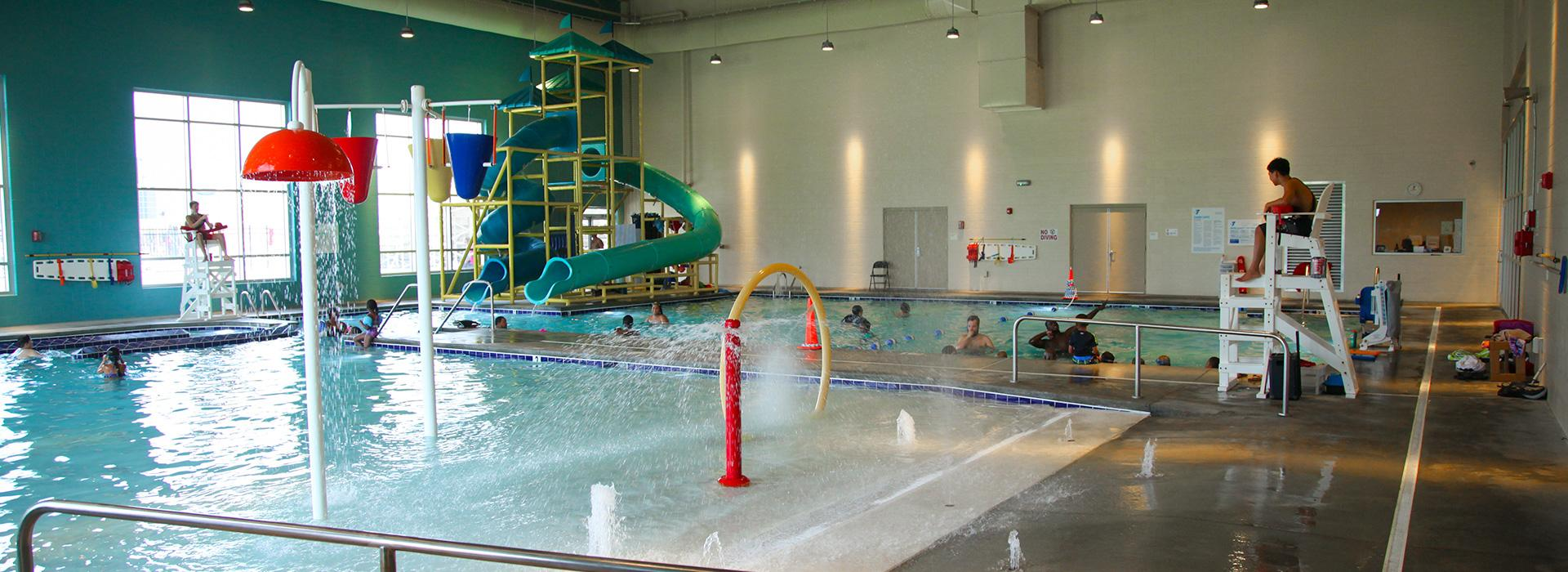 Princess Anne Family YMCA indoor splash park