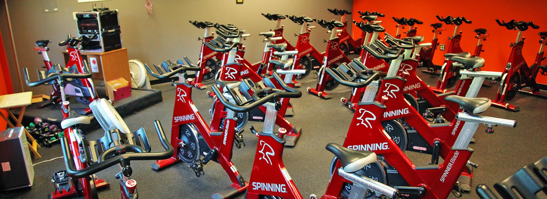 Taylor Bend Family YMCA Group cycling Room