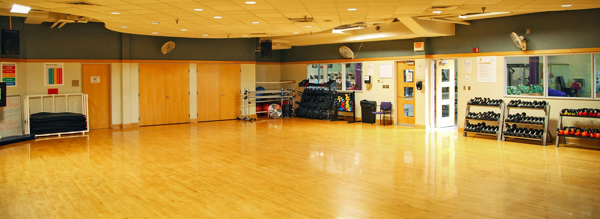 Taylor Bend Family YMCA Group exercise Room