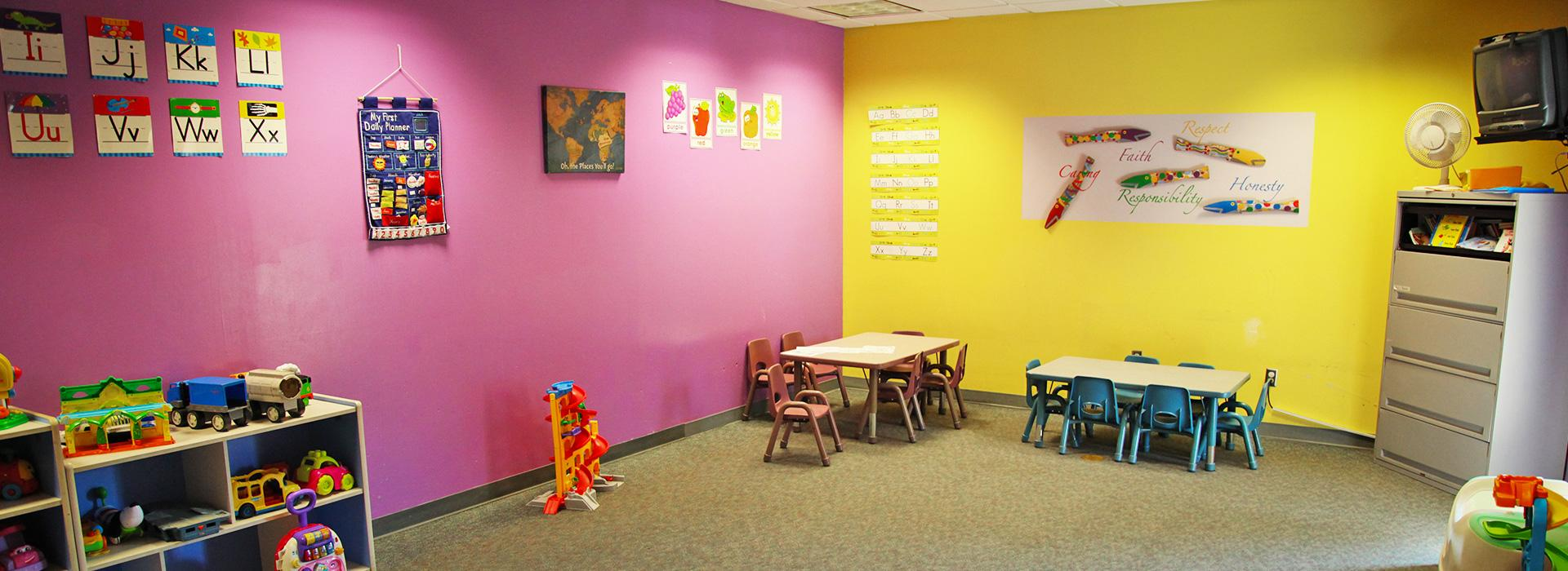 Taylor Bend Family YMCA child care room