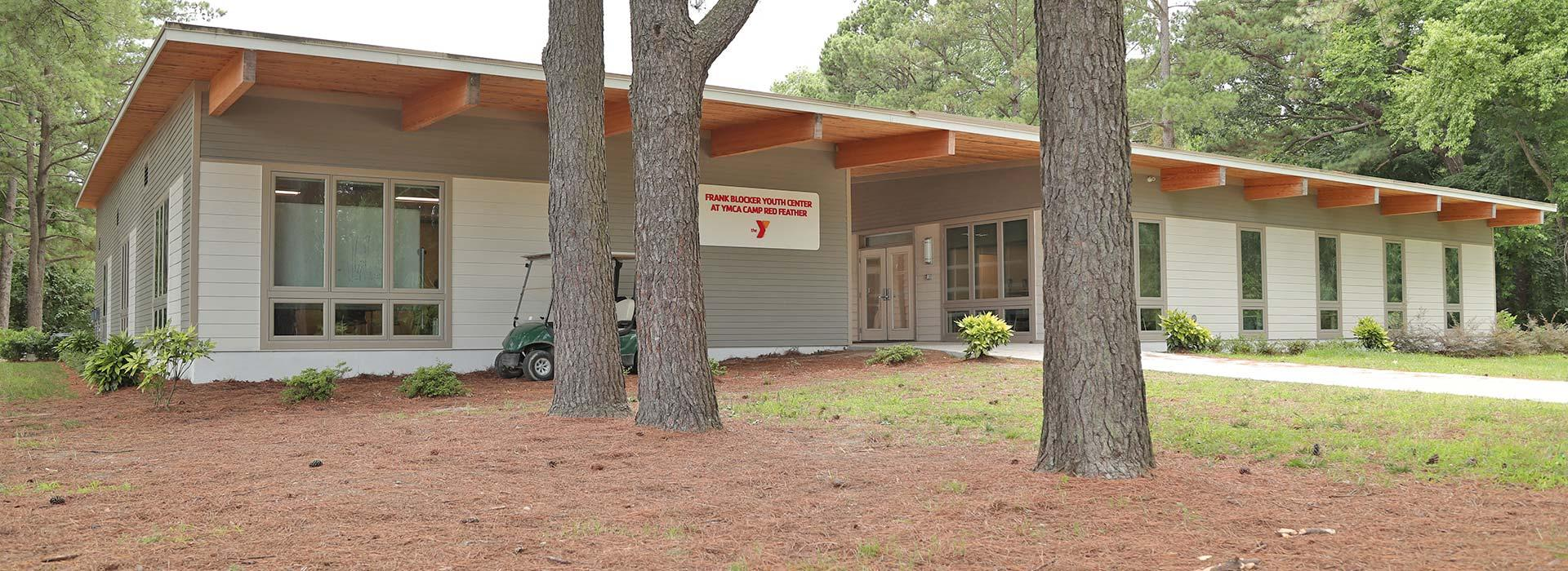 a building of Camp Red Feather