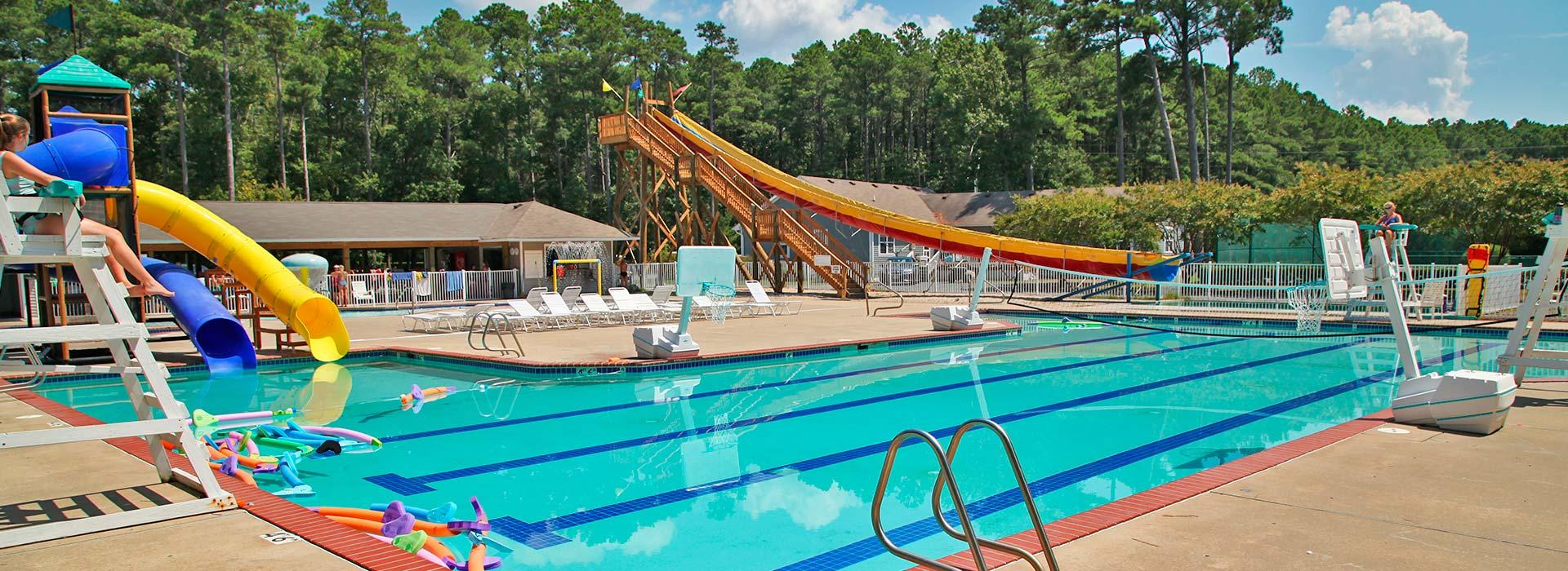 camp silverbeach pool