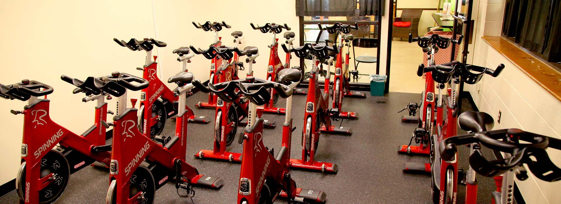 Effingham Street Family YMCA group cycling class
