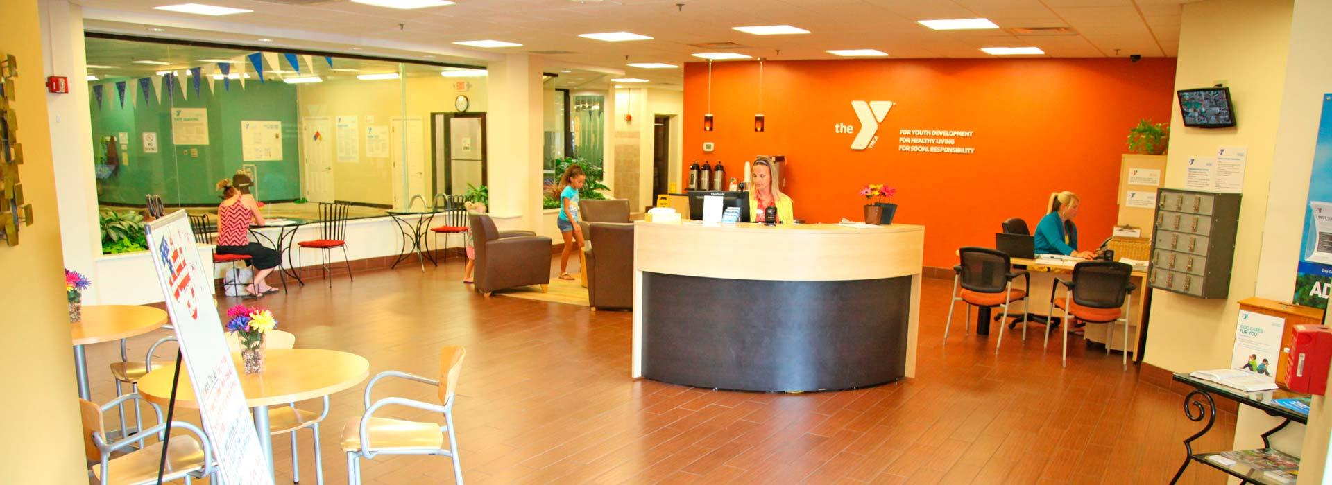 Indian River Family YMCA Lobby