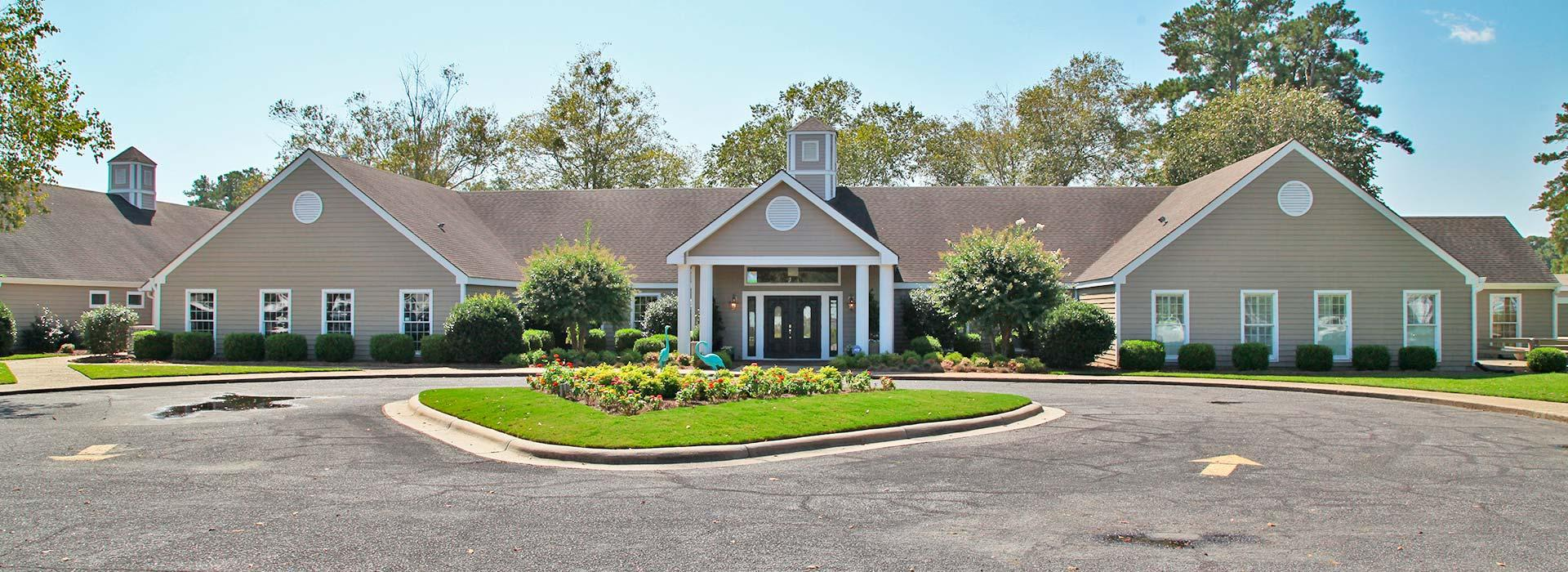 YMCA at the Pines golf clubhouse in Elizabeth City, NC